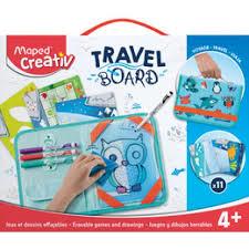 Mapped travel board.makkelijk voor op reis,