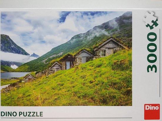 Dino puzzel norangsdalen valley Noorwegen, 3000 stukjes
