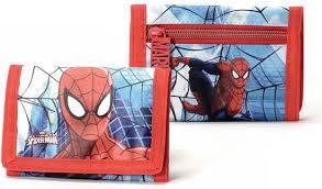 Spiderman - Portemonnee - rood/blauw