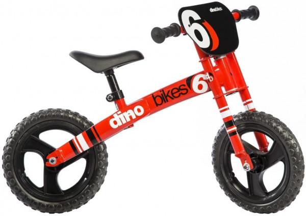 Dino bikes rode loopfiets 12 inch groot.