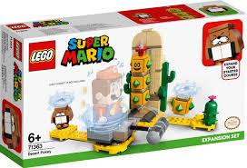 Lego Super Mario expansion set Desert Pokey.