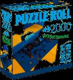 Puzzel rol oprolbare mat tot 2000 stukjes.