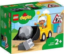 Lego Duplo bulldozer met figuurtje.
