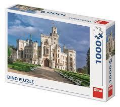 "Dino Legpuzzel ""Hluboka Castle"" 1000 Stukjes"