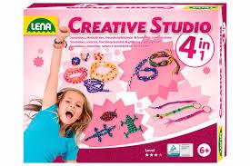 Lena creative studio 4 in 1 knutseldoos.