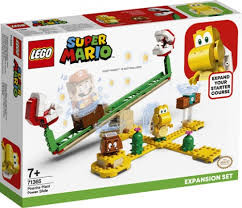 Lego Super mario Expansion set Piranha Plant power slide.