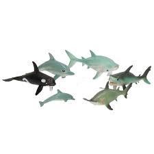 Ocean world 6 oceaan dieren in zak.