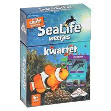 Sealife Weetjes Kwartet - Kaartspel