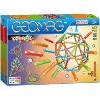 Geomag confetti 127 delig bouwen met magneten.