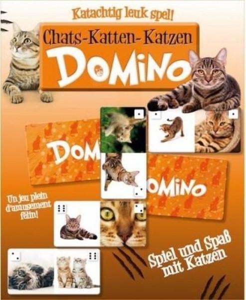 Katten domino, een katachtig leuk spel.