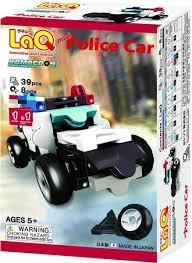 LaQ Hamacron construction mini Police car.