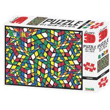 3D puzzel van de rubiks cube 500 stukjes.