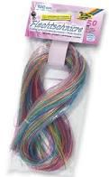 Scoubidoe touwtjes 40 stuks van 80 cm lang.