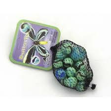 Butterfly knikkers 20 knikkers + 1 grote knikker.