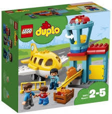 Lego duplo vliegveld met vliegtuig. 10871