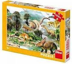 Dinosaurus Puzzel 100 Stukjes