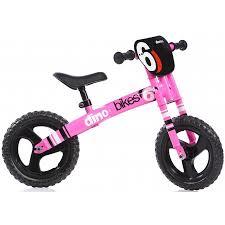 Dino bikes roze loopfiets 12 inch.groot.