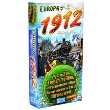 Days of Wonder uitbreiding Ticket to Ride - Europe 1912