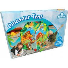 Speelhuisje dinosaurus opdruk afmeting 95x72x102 cm