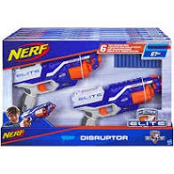 Nerf elite disruptor 2 stuks