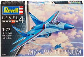 Revell bouwmodel MiG-29S Fulcrum 03936