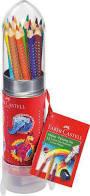 Kleurpotlood Faber-Castell GRIP Raket