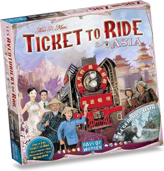 Ticket to ride asia editie, Days of wonder.
