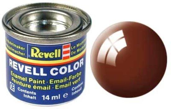 Revell verf voor modelbouw glanzend leembruin nr 80