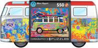 Volkswagen bus wave hopper met puzzel van 550 stukjes.