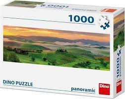 Dino Panorama Puzzel Zonsondergang 1000 Stukjes