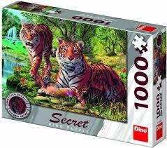 Puzzel met geheimen Tijgers: 1000 stukjes