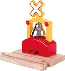 Hape Speelgoed Automatic Train Bell Signal