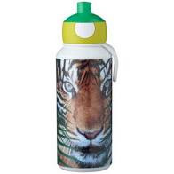 Mepal Drinkfles Pop-up Campus 400 ml - Animal Planet Tijger