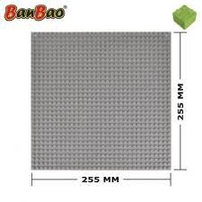 Banbao grijze grondplaat 25.5 x 25.5 cm.