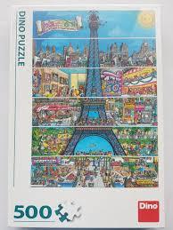 Dino Puzzel 500 Stukjes Funny Parijs