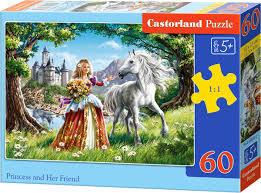 Castorland Puzzel Princess and Her Friend