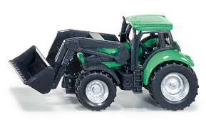 Siku deutz tractor met voorlader.