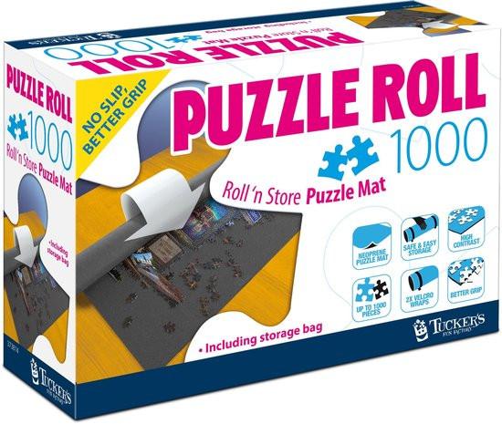 Puzzel rol oprolbare mat tot 1000 stukjes.