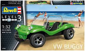 Revell volkswagen buggy level 3.