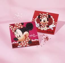 Disney Minnie Mouse Glitterkaarten maken