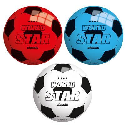 10 ballen 13 cm doorsnee in 3 kleuren star ballen.