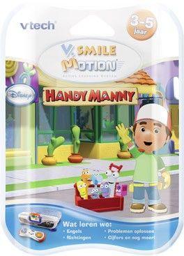 Vtech V.Smile Motion Game Handy Manny