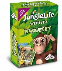 Identity games Junglelife Weetjeskwartet. 01541