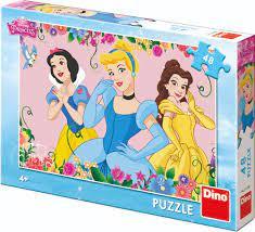 Dino kinder puzzel disney princessen, 48 stukjes