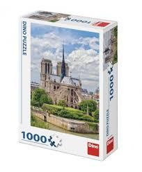 Puzzel Kathedraal Notre-Dame Parijs 1000 Stukjes