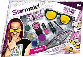 Star model make up set weekend, make your own style.