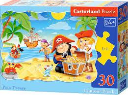 Castorland Puzzel Pirate Treasure