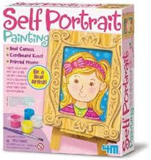 4M zelf portret. schilder je zelf portret op canvas.
