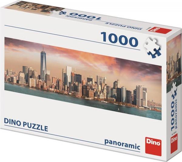 dino puzzel ,manhattan new york 1000 stukjes.
