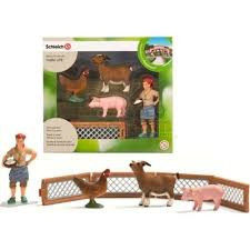 Schleich Farm Life Set Boerenerf Speelset